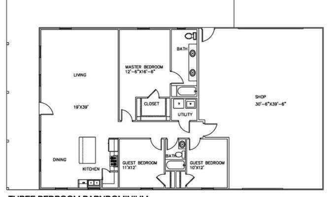 Barndominium Floor Plans Different Purpose
