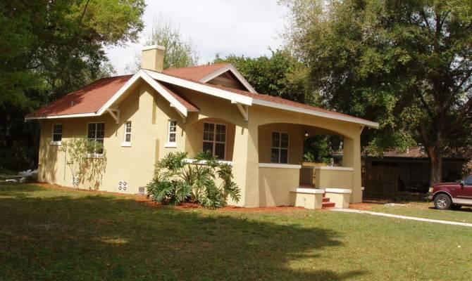Bartow Bungalow Style House Built Florida
