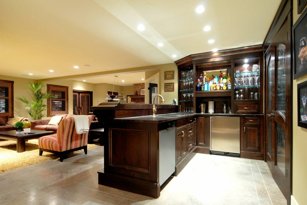 Basement Bar Designs Themes