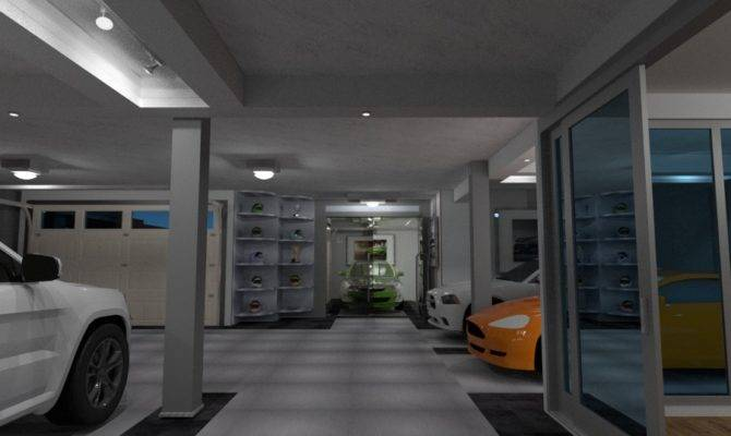Basement Garage Poker Room Apartment Ideas Planner