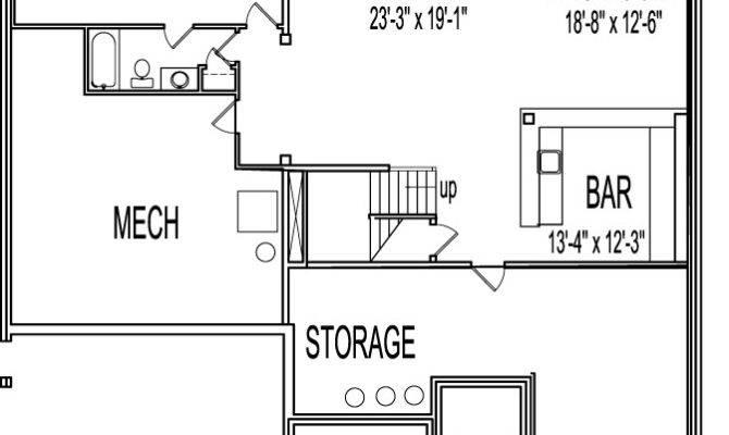 Basement Home Plans Design Mannahatta