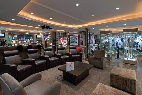 Basement Man Cave Design Ideas Men Manly Home