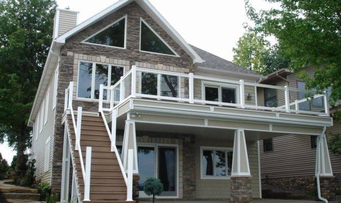 Basement Two Story Walkout House Plans