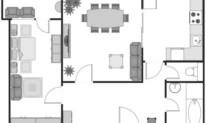 Basic Floor Plans Solution Conceptdraw