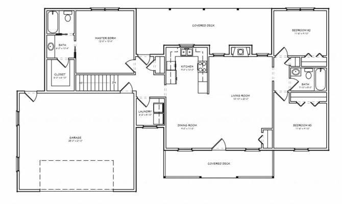 Basic Ranch Style House Plans New Small Floor