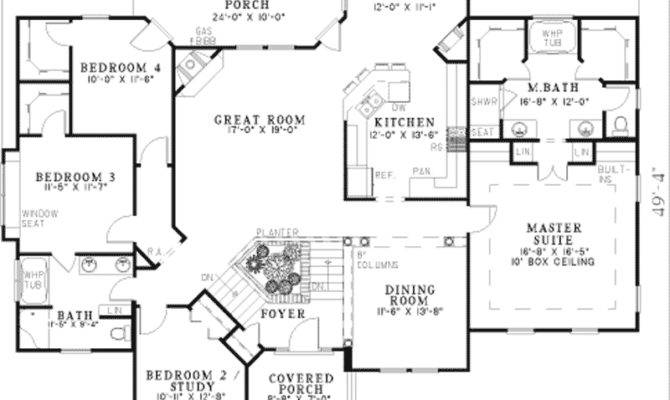 Baskin Farm Split Level Home Plan House Plans