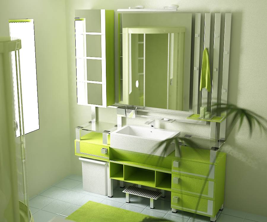 Bathroom Design Ideas Set