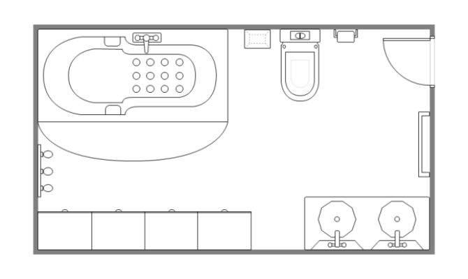 Bathroom Floor Plan Templates