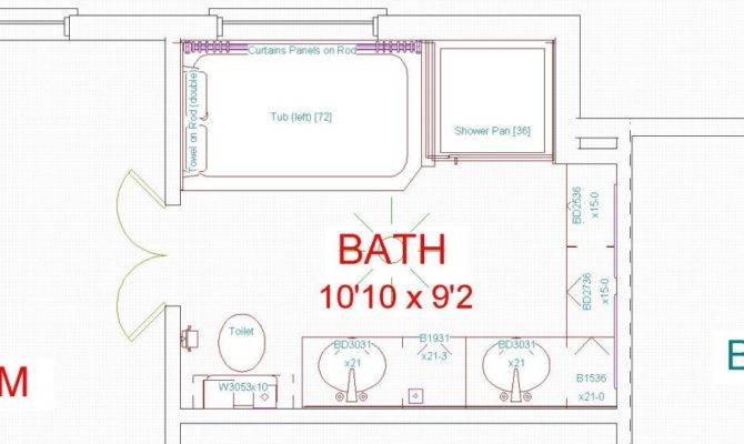 Bathroom Floor Plans Luxury Master