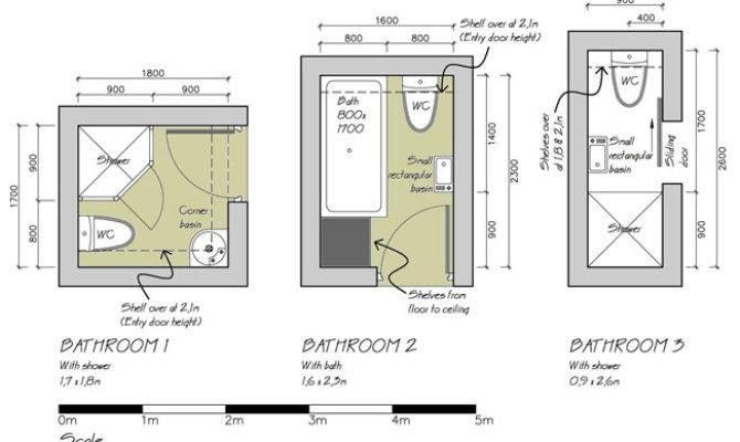 Bathroom Floor Plans Smaller Bathrooms