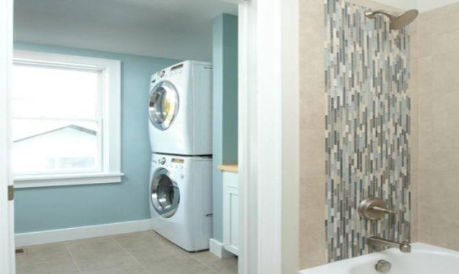 Bathroom Laundry Room Ideas Combo