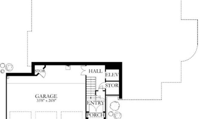 Baths Plan Lower Floor Houseplans