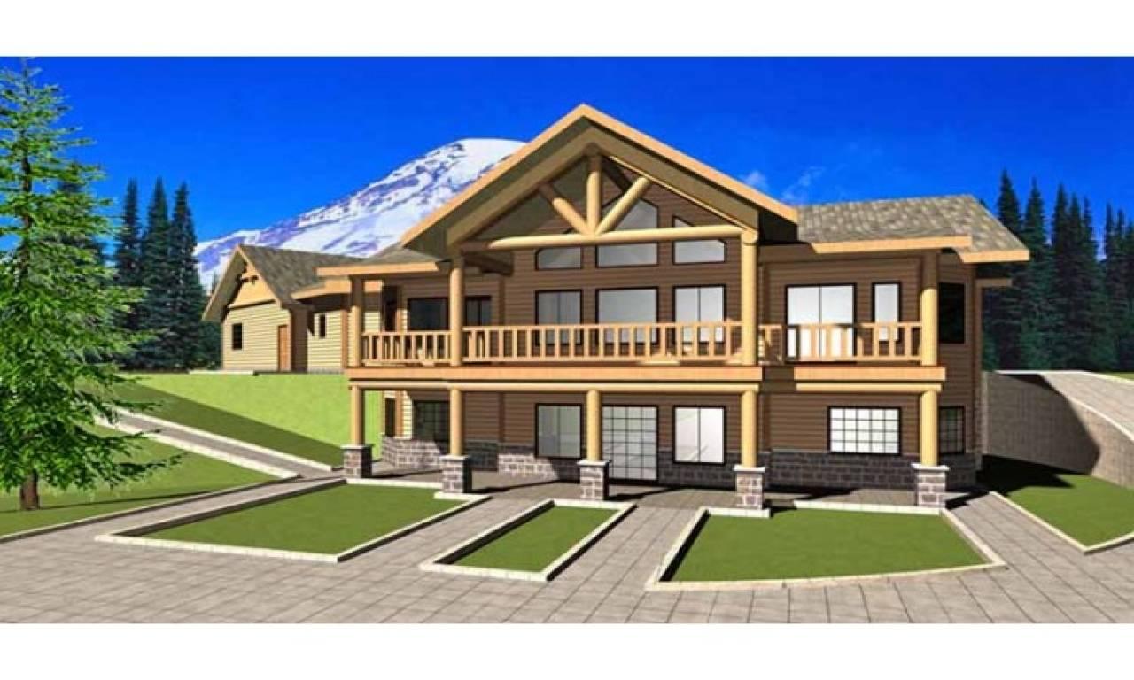 Bavarian Chalet House Plans Style