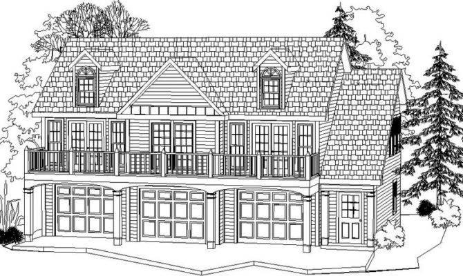 Bay Garage Apartment Plans Alp Chatham Design