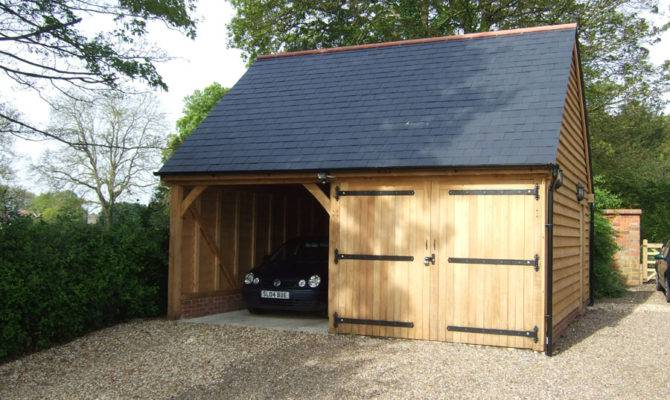 Bay Garage Hampshire Bespoak Framing
