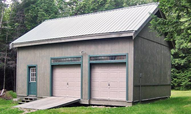 Bay Garage Large Barn Loft Timber Frame Structure Kit