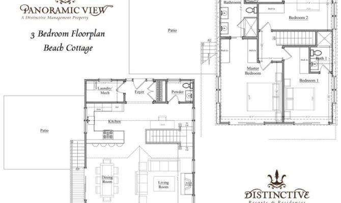 Beach Cottage Floor Plan Small House Plans Pinterest
