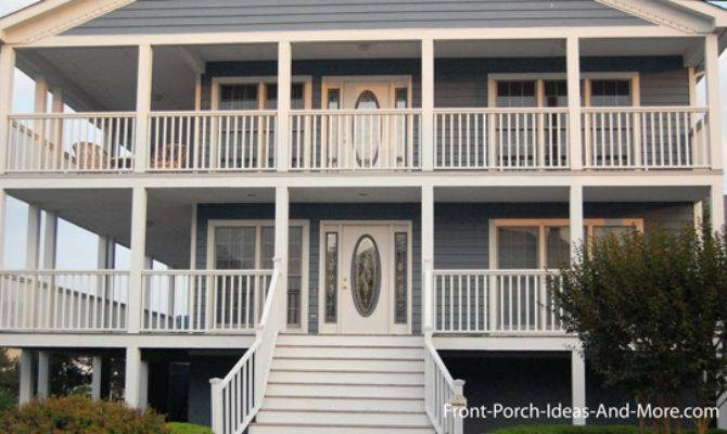 Beach Home Plans Coastal Houses Front Porch