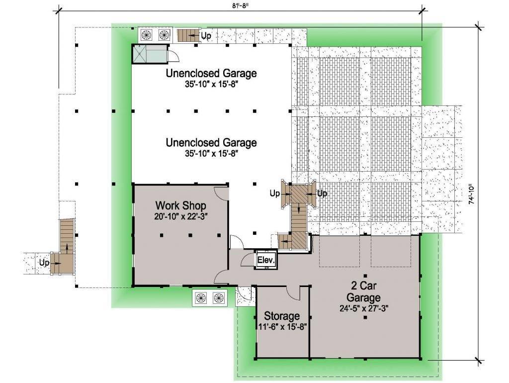 Beach House Floor Plans Elevator