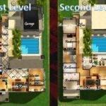 Beach House Floor Plans Sims Mod Malibu Town