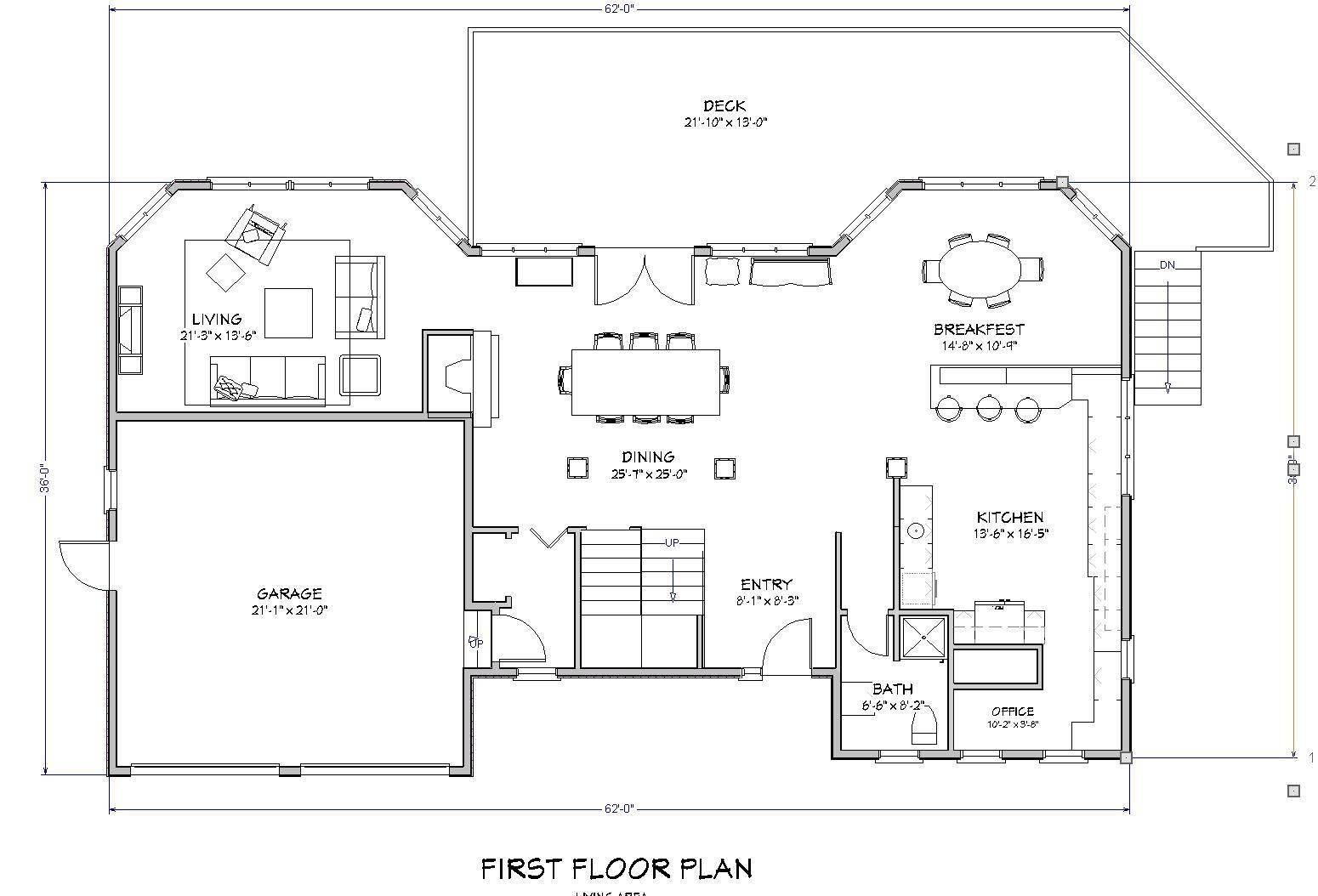 Beach House Floor Sea Change Plan Design