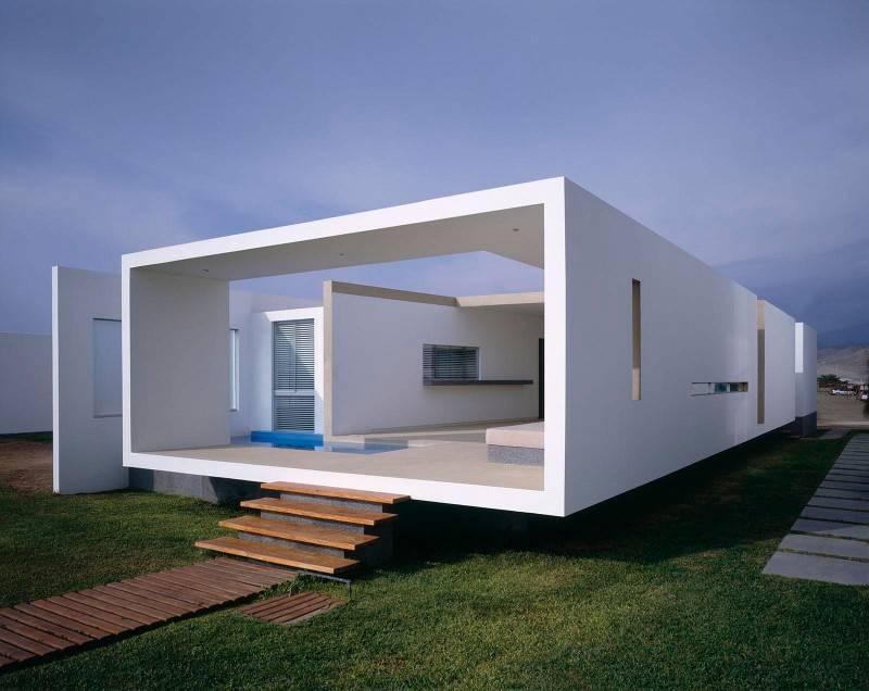 Beach House Peru Catches Eye Sleek Contemporary Design