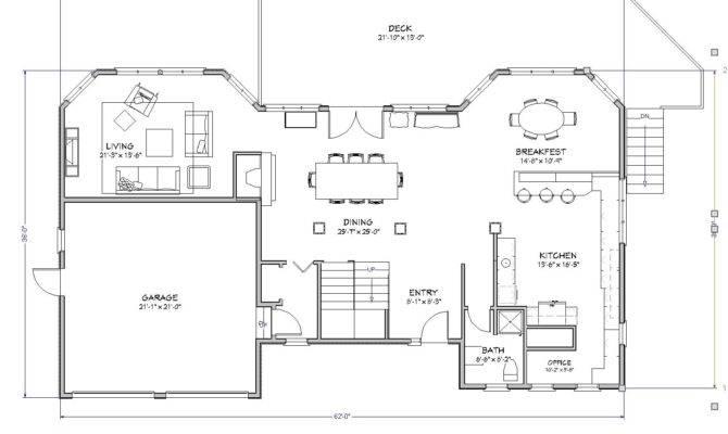Beach House Plan Lake Cape Cod