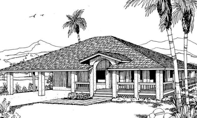 Beach House Plan Wrap Around Porch