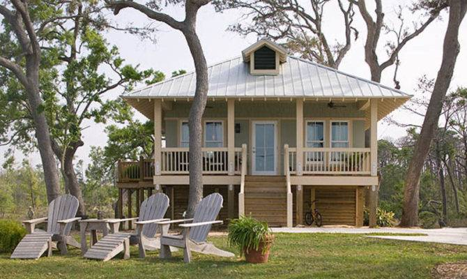 Beach Style House Plan Beds Baths Exterior