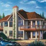 Beachfront Contemporary Vacation Homes House Plans Home Design