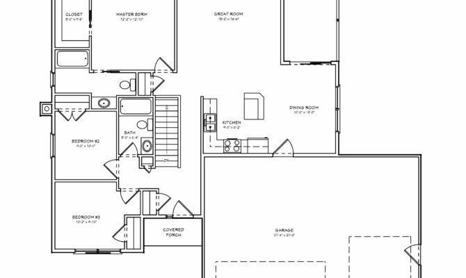 Beautiful Bedroom House Plans Basement Small
