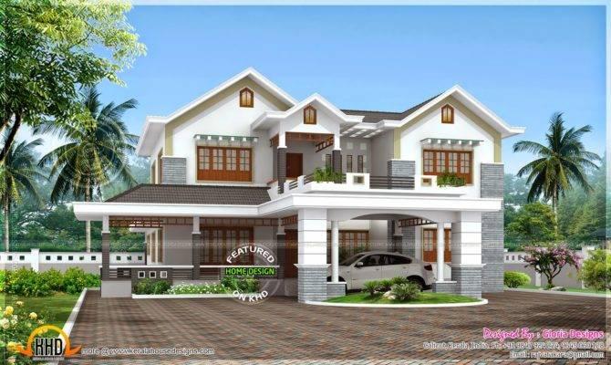 Beautiful Bedroom Modern House Kerala Home Design