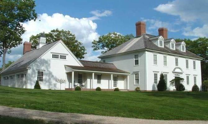 Beautiful Colonial Home Farmhouse Exterior Pinterest