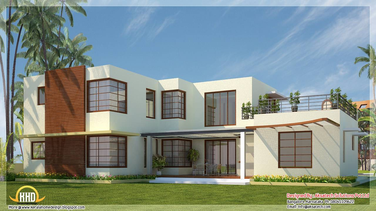 Beautiful Contemporary Home Designs Kerala Design Floor