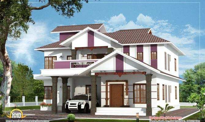 Beautiful Duplex House Kerala Home Design