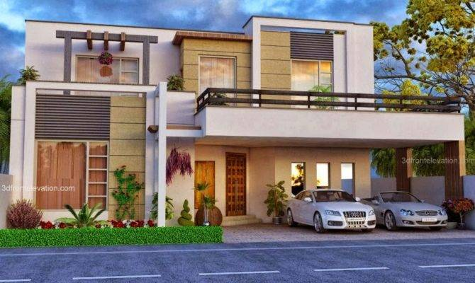 Beautiful Elevations Houses Front Elevation House