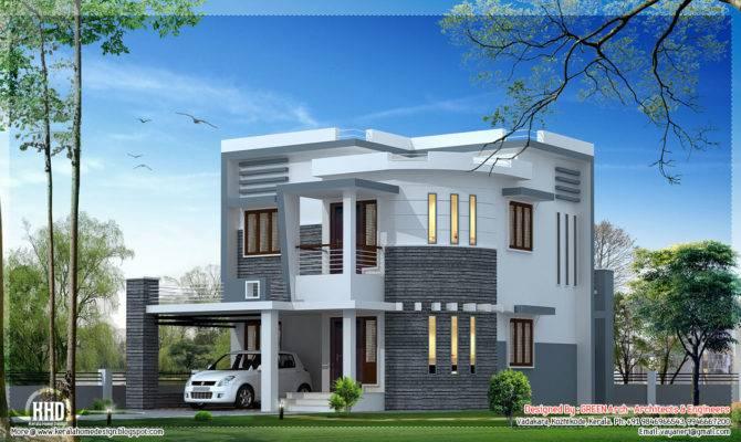 Beautiful Feet Villa Design Kerala House Idea