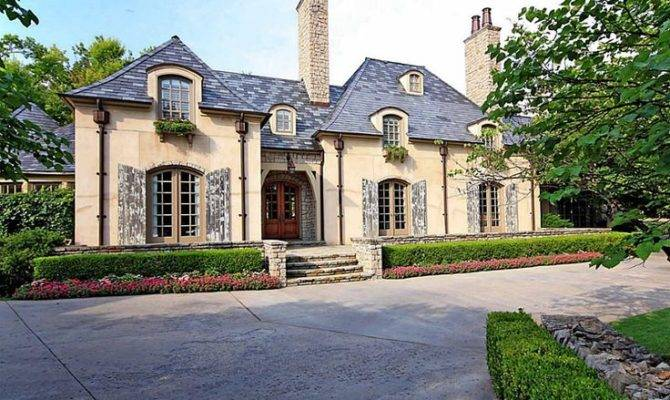 Beautiful French Country Style Home Pinterest
