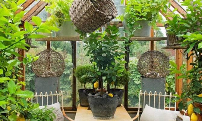 Beautiful Greenhouse Interior Designs