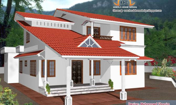 Beautiful Home Elevation Designs Kerala