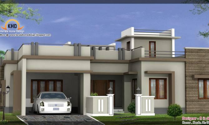 Beautiful Home Elevations Kerala Design Floor