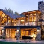 Beautiful House Design Rustic Natural Stone Also
