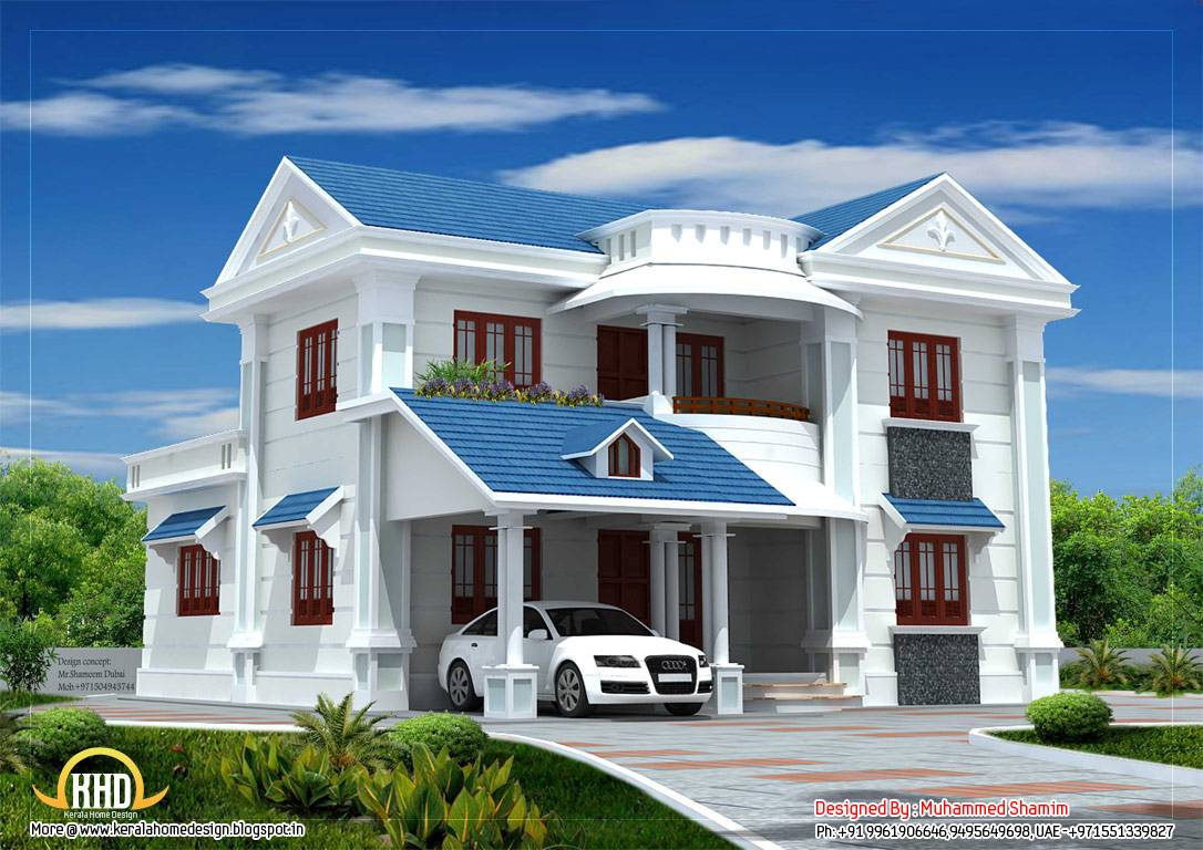 Beautiful House Elevation Kerala Home