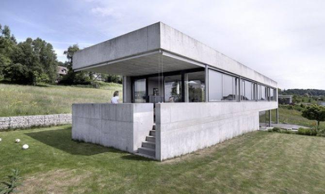 Beautiful House Interior Kitchen Simple Concrete Block