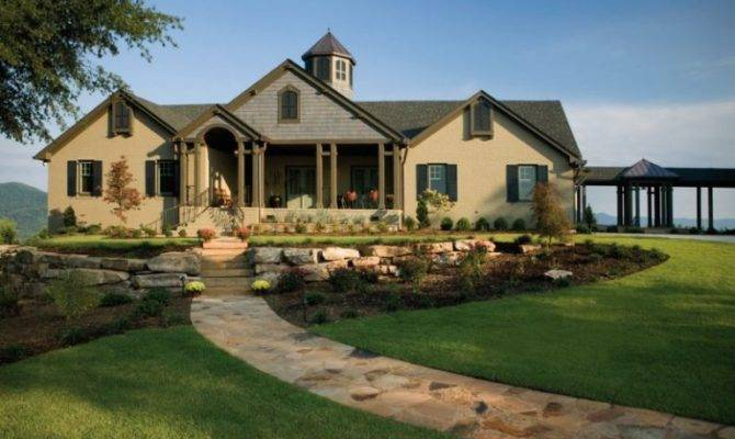 Beautiful Ideas Luxury Ranch House Plans Stunned