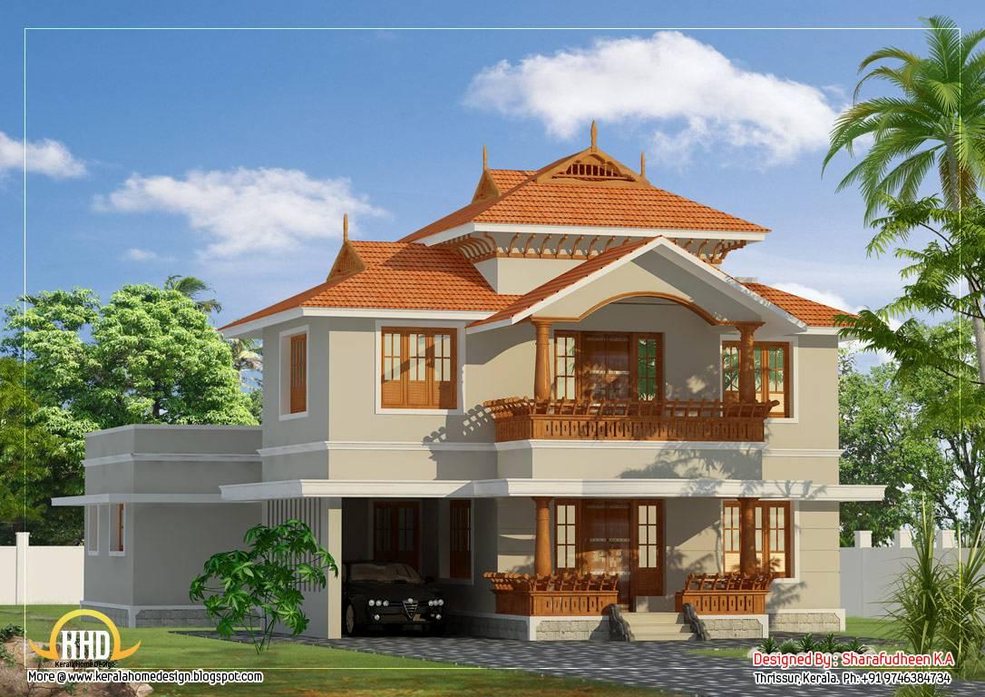 Beautiful Kerala Style Duplex Home Design