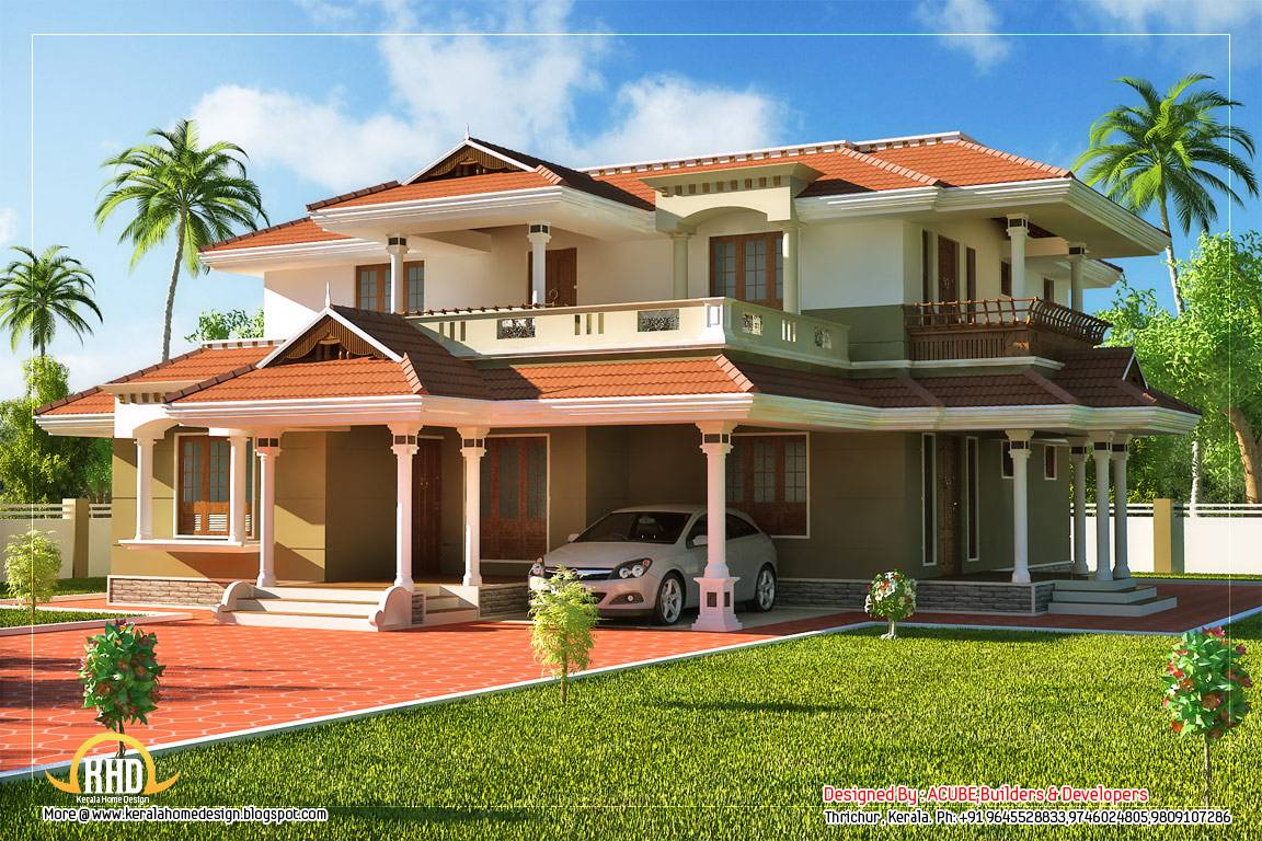 Beautiful Kerala Style Story House
