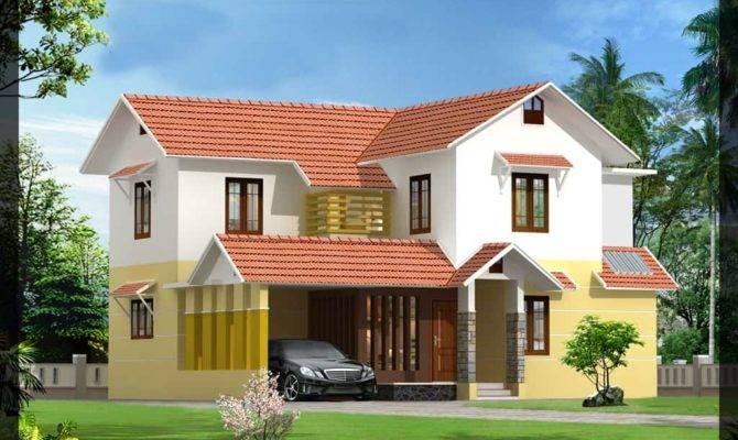 Beautiful Kerala Villa Elevations