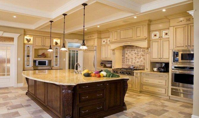 Beautiful Kitchen Islands Luxury Design Ideas