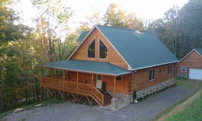 Beautiful Log Home Two Master Suites Vrbo